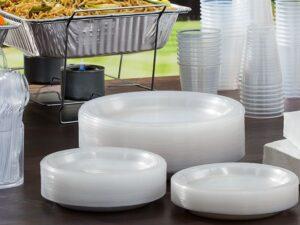 Пластиковая посуда, пакеты, пленка, бахилы и т.д.