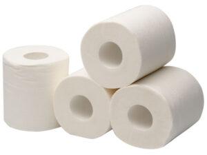 Туалетная бумага 2х слойная
